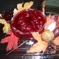 Cranberry Sauce with Port and Orange Liqueur