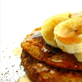 Crazy Healthy Cinnamon Banana Pancakes