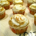 Cream Cheese and Pumpkin Muffins
