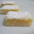 Creamy Lemon Nut Bars