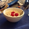 Creamy Raspberry Oatmeal