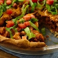 Crescent Taco Bake
