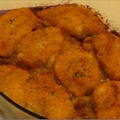 Crispy Oven-baked Parmesan Chicken Breast
