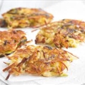 Crispy Potato-leek Rosti