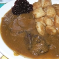 Croatian boar casserole
