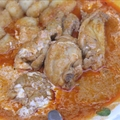 Croatian chicken paprikas