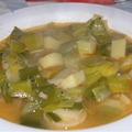 Croatian leek stew (poriluk cupajz)