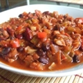 Crock Pot Vegetarian Chili- Core Recipe; Flex=2pts (aprx 2 cups)