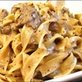 Crockpot Beef Stroganoff 
