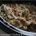 Crockpot Chicken and Rice Casserole