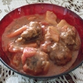 Crockpot Meatball Stew