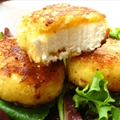 Crusted Goat Cheese Medallions