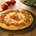 Crme de Brie Pizza with Tomatoes & Bacon