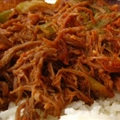 Cuban Ropa Vieja Shredded Beef (Slow Cooker)
