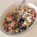 Cucumber, Tomato, Beans and Feta Salad