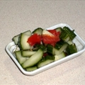 Cucumber Tomato Salad