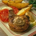 Dads Grilled Pork Chops with Savory Steak Butter