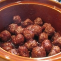 Der Meatballs for the Crock Pot