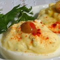 Deviled Eggs (lightened)