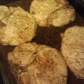 Dr. Pepper Pork Chops