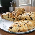 Dried Cherry Buttermilk Scones