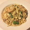 Drunken Seafood Pasta