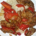 East Meets West Pepper Steak