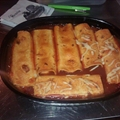 Easy cheese enchiladas