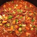 Easy Chorizo Bison Chili