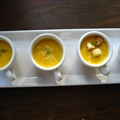 Easy, Creamy Butternut Squash Soup...Amuse Bousche