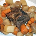 Easy Crockpot Beef Roast