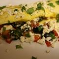 Easy Greek Omelet