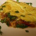 Easy Southwestern Omelet
