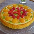 Ednas Easy Fruit Sponge Flan Dessert