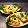 Egg and Shrimp Salad Sandwiches