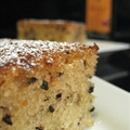 Eggless sesame seed cake