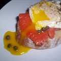 Eggs and Gravlax