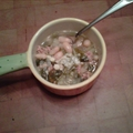 Escarole, Bean & Sausage Soup
