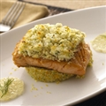 Fat Free Feta Encrusted Salmon