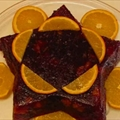 Festive Cranberry-orange Relish Mold