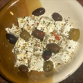 Feta Cheese And Marinated Greek Olives