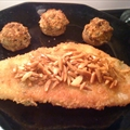 Fillet of Flounder with Almonds