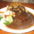 Filet Mignon with Merlot Sauce