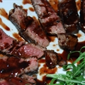 Fillet with Maple Balsamic Wine Sauce