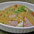 Fire Roasted Pork Tenderloin with Asiago Cheese Grits