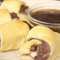 French Dip Croissants