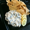 Fresh Spinach Artichoke Dip