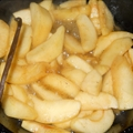 Fried Apples with Vanilla Bean