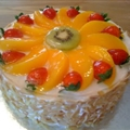 Fruit Flan Cake