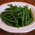 Garlic and Rosemary Green Beans